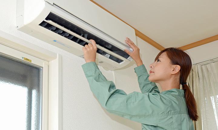 群馬県高崎市のエアコン取り付け、取り外しの電気工事