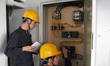 群馬県高崎市の漏電改修・分電盤の電気工事