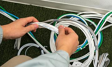 群馬県高崎市のLAN配線の電気工事