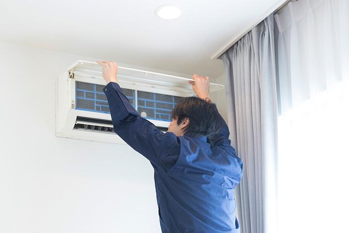 エアコンの撤去