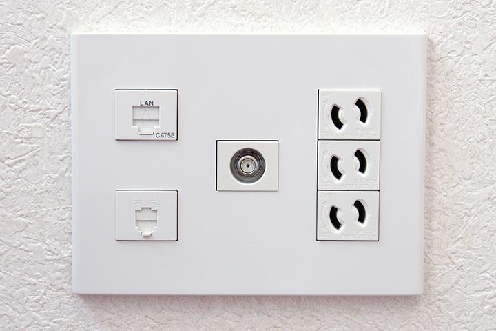 LAN配線_ご自宅全体に通信環境を設置